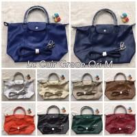 tas longchamp cuir grade ori / tote bag