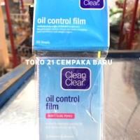Clean & Clear Oil Control Film BLUE 60 Lembar Kertas Minyak BIRU Promo