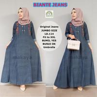 Grosir/Eceran Murah Baju Maxi Dress Biante Jeans