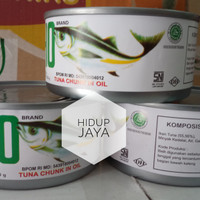 DEHO Tuna Chunk in Oil ( Tuna Kaleng ) 180gr