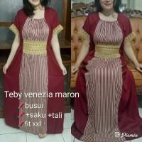 daster arab/india/dubai/turki teby venezia dress busui