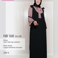 nibras gamis 168 salem(overall)