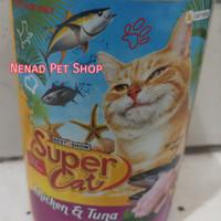Makanan Kucing Kaleng Supercat 400gr/Cat Food Canned Supercat 400gram