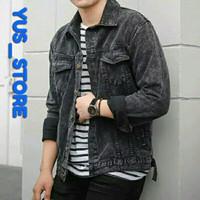 jaket jeans/jaket jeans sandwash/jaket jeans biobiltz/jaket levis/vans