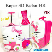 PROMO! Tas Koper Hello Kitty 18inch