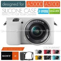 Silicone Sony Alpha A5000 A5100 Silikon Case / Sarung Silicon Kamera