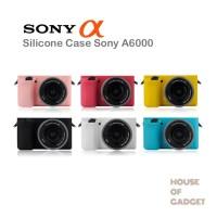 Silicone Silikon Case Kamera Mirrorless Sony Alpha A6000