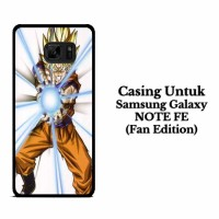 Casing SAMSUNG NOTE FE Dragon Ball Z GOKU Hardcase Custom
