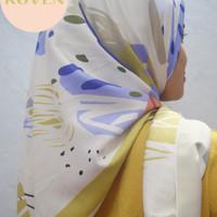 Jilbab Motif Segi Empat Maxmara / Jilbab Maxmara Murah