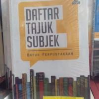 Harga buku daftar tajuk subjek untuk perpustakaan | antitipu.com
