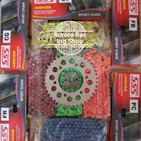 Gear Set SSS Xabre & Rantai SSS 428 HSB Colour Series