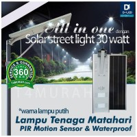 Lampu jalan LED 30watt,Tenaga matahari,All in one Solar Street Light