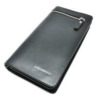 Dompet Genggam Clutches Kulit Zipper Leather Handbag