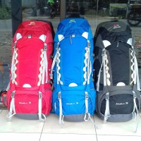 tas gunung carrier sunature 70L not rei eiger consina kalibre deuter