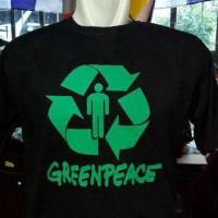 Kaos /T-Shirt GreenPeace Berkualitas