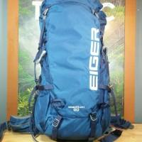 Tas Eiger Wanderlust 60L M-L, 52.5 cm Torso 910003569001 Original Biru
