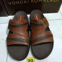 sz 39 sandal casual keren pria merk yongki komaladi brand matahari