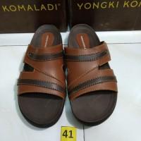sz 41 sandal casual keren pria merk yongki komaladi brand matahari