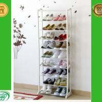 MURAH Rak sepatu 10 tingkat amazing shoes rack multifungsi modern