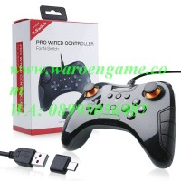 Jual Nintendo Switch Pro Controller Wired Gamepad Black Joystick DOBE Murah