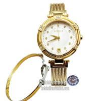 JAM TANGAN WANITA BONIA BNB10434-2217S SAPHIRE GOLD ORIGINAL MURAH
