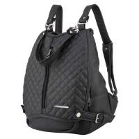 Tas Ransel Punggung Backpack Wanita Cewek Cewe Warna Hitam TP 034 CZ