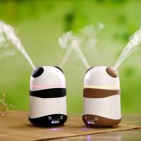 PANDA Aroma Diffuser Ultrasonic Humidifier Dual Nozzle 150ml
