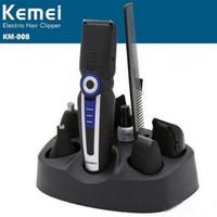 KEMEI KM-008 6 In 1 Multifunction Electric Hair Trimmer Razor