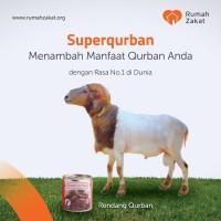 Rumah Zakat - Qurban Superqurban Kambing