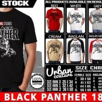 Tshirt BLACK PANTHER 18
