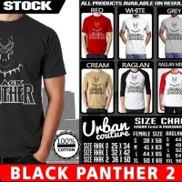 Kaos BLACK PANTHER 2