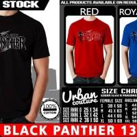 Tshirt BLACK PANTHER 13