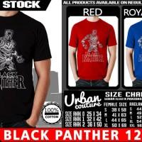 Tshirt BLACK PANTHER 12
