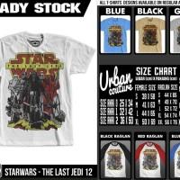 T-shirt STARWARS - THE LAST JEDI 12