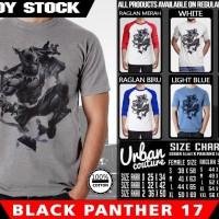 Tshirt BLACK PANTHER 17