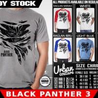 Tshirt BLACK PANTHER 3