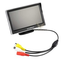 Monitor Rear View Parkir Mobil TFT LCD 5 Inch