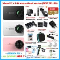 Paket Xiaomi Yi 2 II 4K PREMIUM Set Lengkap Action Camera ORIGINAL