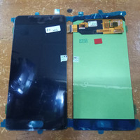 LCD 1SET SAMSUNG GALAXY A710 A7 2016 ORIGINAL BLACK KONTRAS