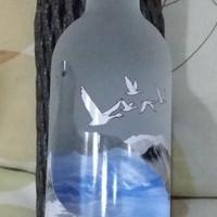 Botol Pajangan - Grey Goose Vodka 200ml