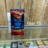 Hardcase Robot Transformer Oppo F5 Gambar Superman Oppo F5+ F5 Pro
