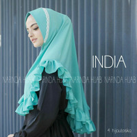 khimar renda jilbab rempel kerudung pet terbaru model baru