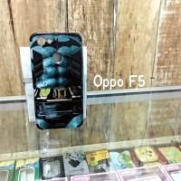Hardcase Robot Transformer Oppo F5 Gambar Batman Oppo F5+ F5 Pro