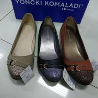 Sepatu flat shoes wanita Yongki Komaladi original 100%BNIB fullset box