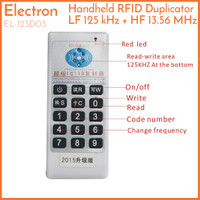 125 kHz 13.56 MHz Handheld RFID Duplicator Copier Writer EL-123D03