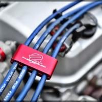 NEW Wireklip PWJDM Red Pengunci Kabel Busi Old Model Dapat 3 Buah Klip