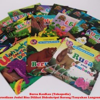 Buku Cerita Anak Bergambar Seri Dongeng Binatang Dan Anak Indonesia