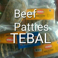 Jual daging tebal burger beef patties 500 gr yona Murah
