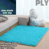 karpet bulu/tikar lembut uk 150x100x2cm