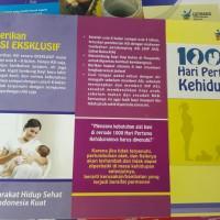 Leaflet / Brosur Germas dan 1000 Hari Pertama Kehidupan (1000 HPK)